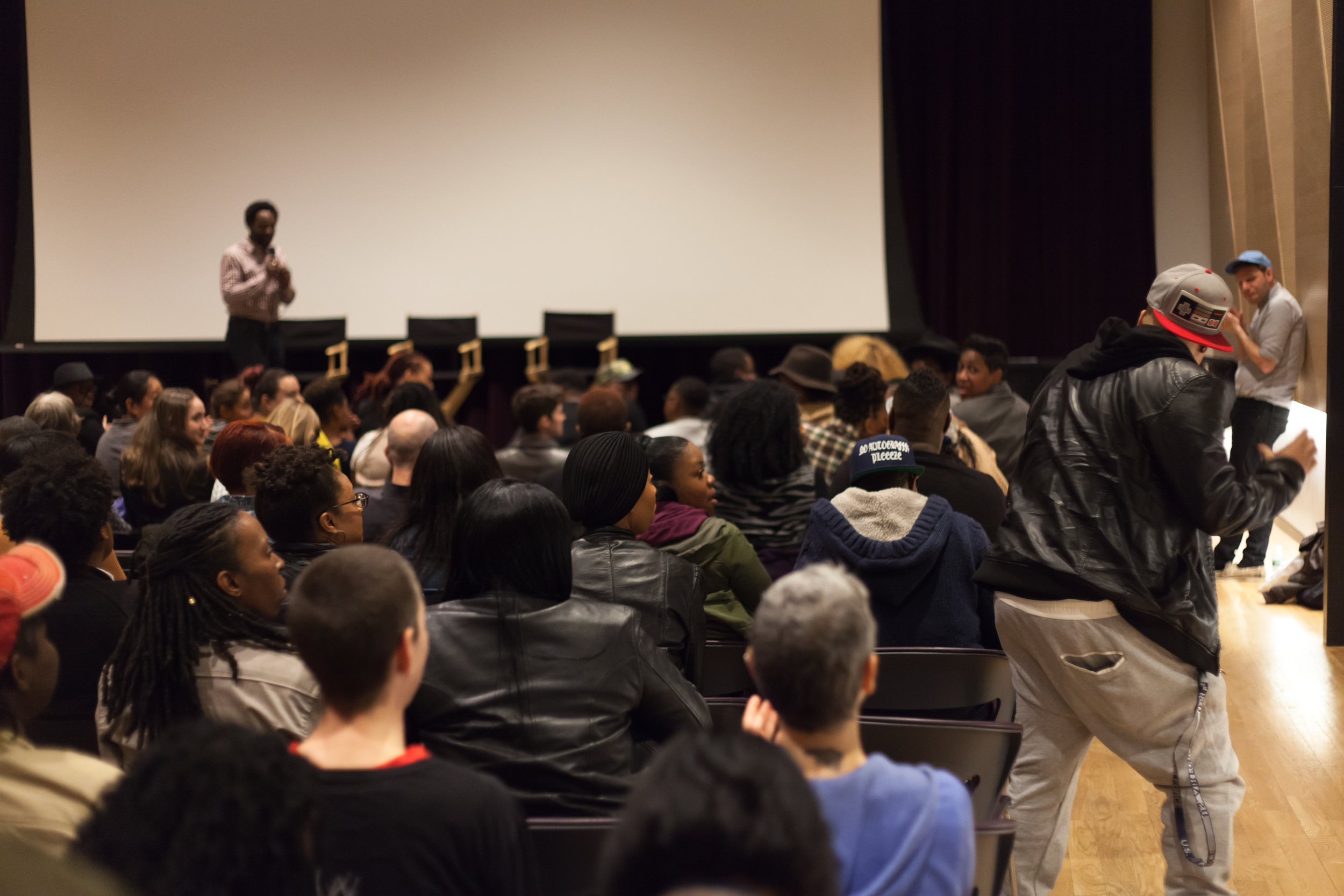 The  Lesbian, Gay, Bisexual, Transgender Center 's  Same Difference   screening and reception.