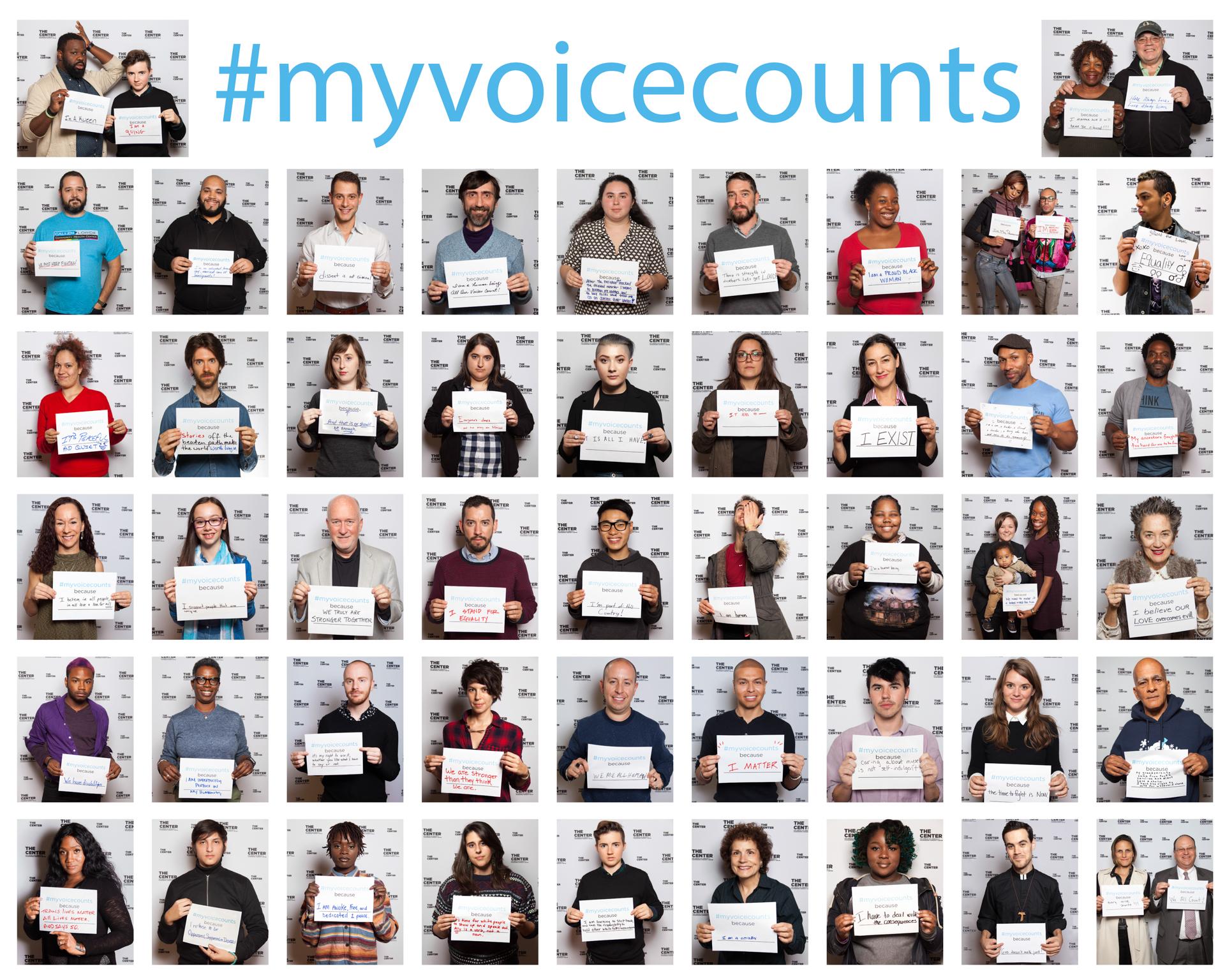 #myvoicecounts