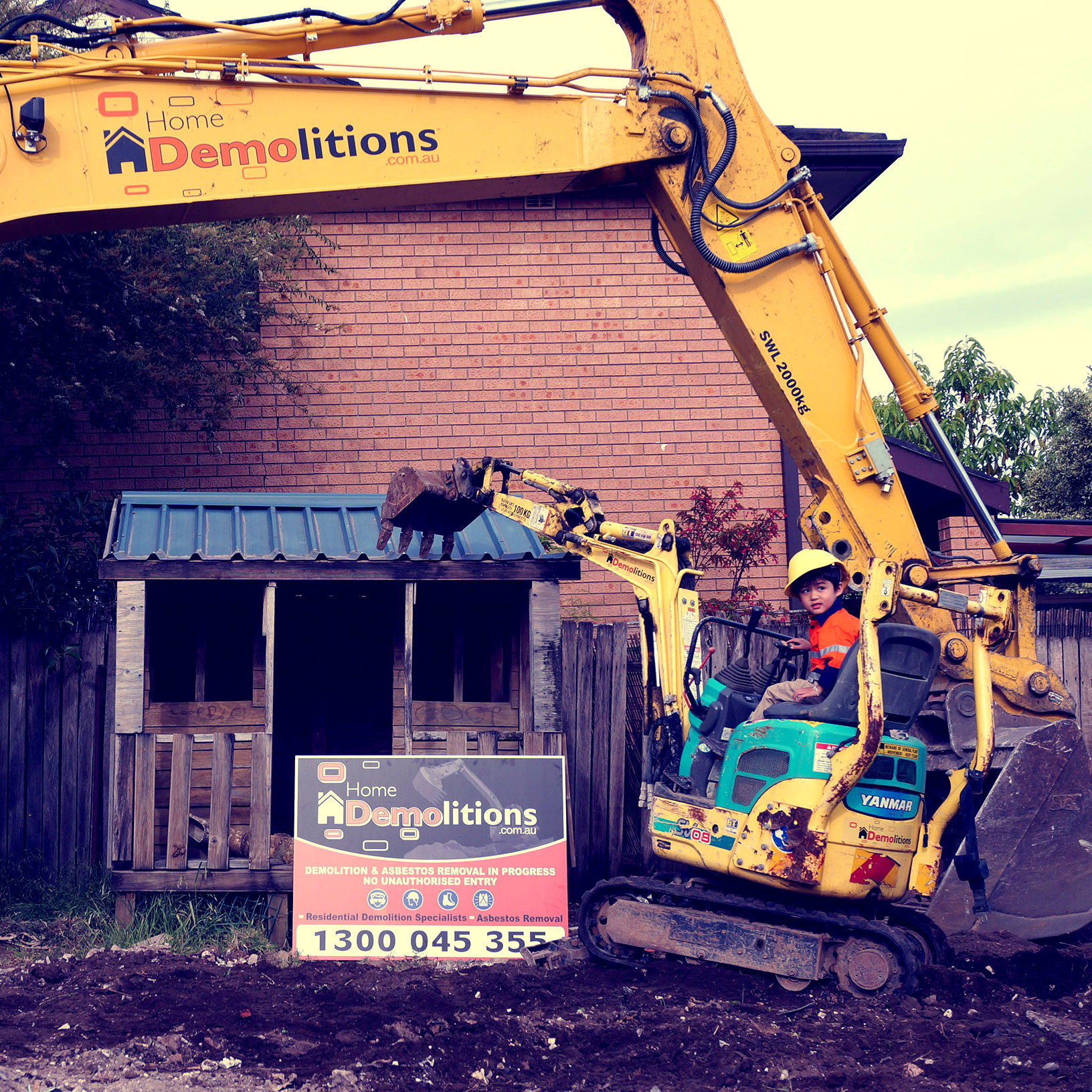 Specialised Demolition #1 Cubby House