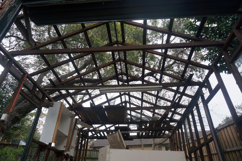 fibro shack demolish