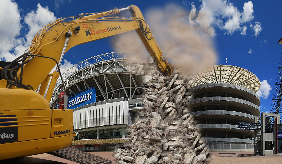 The Sydney Olympic stadium is doomed for demolition in 2019.