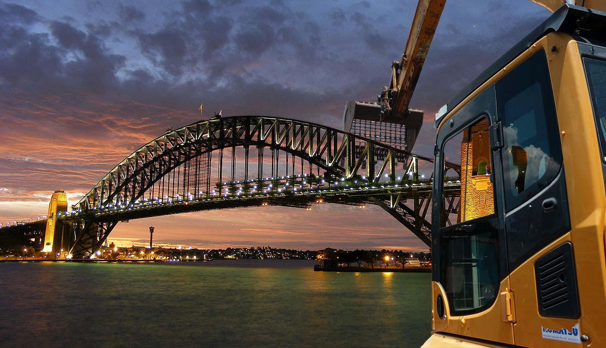 Excavator and the Sydney Harbour Bridge.jpg