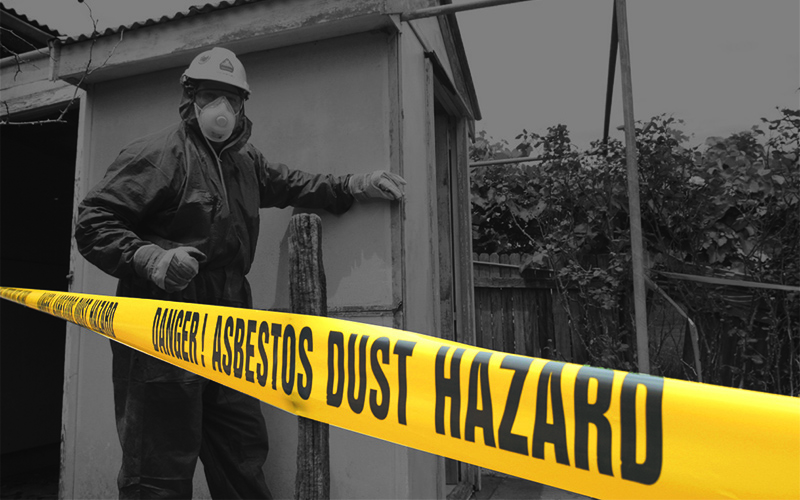 So You Want To Demolish A House Part Three: Asbestos Removal.