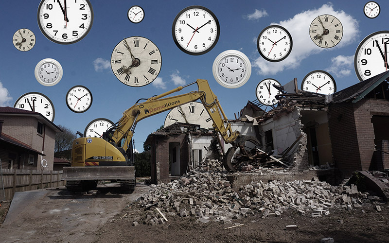 How Long Does It Take To Demolish A House?