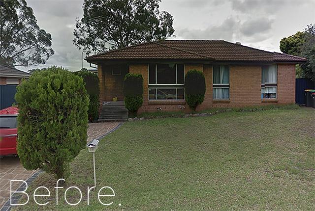 Leumeah before demolition, NSW, 2560