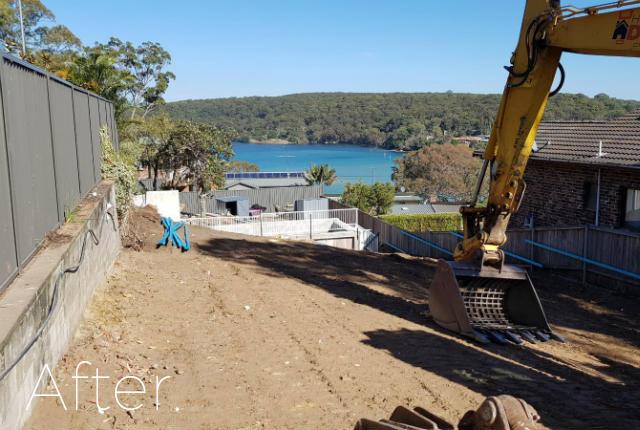 Lilli Pilli after demolition, NSW, 2229