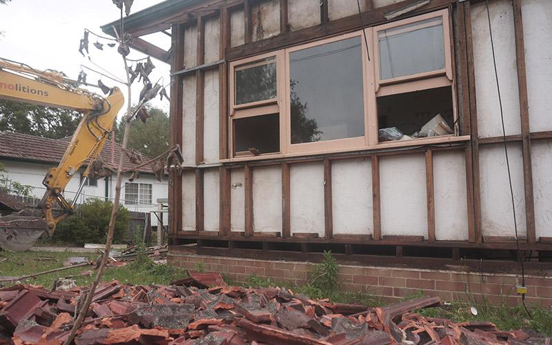 Asbestos And Demolition.