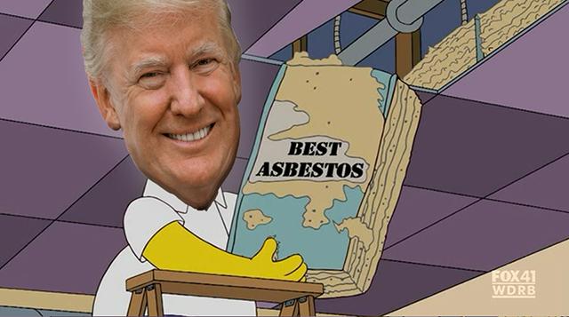 Trump Asbestos Meme SNUR