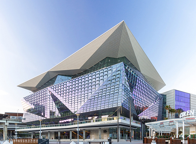 The International Convention Centre located in Darling Harbour, Sydney