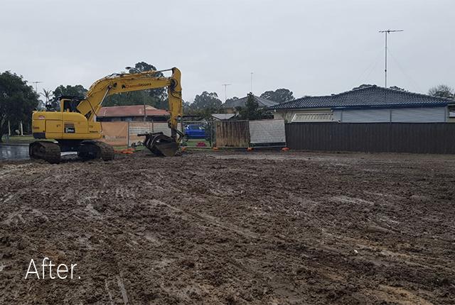 Jamisontown Demolition