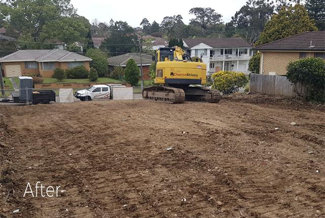 Marsfield Sydney Demolition Price