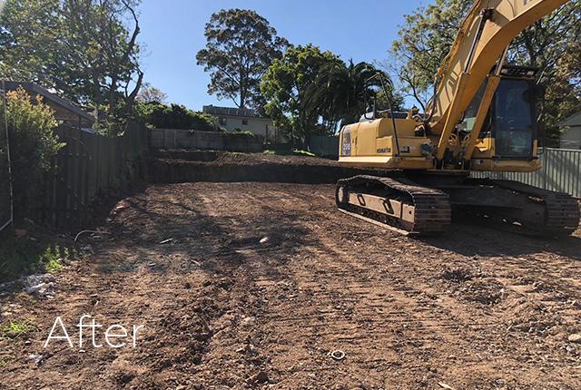 Baulkham Hills Demolition After