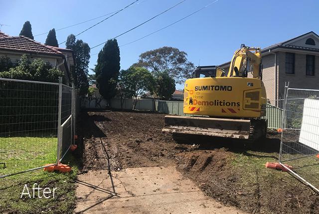Bellevue Hill After Demolition