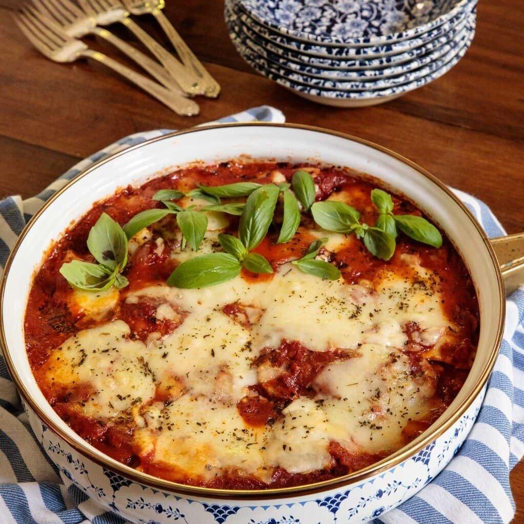 Chicken Sausage Ravioli Lasagna