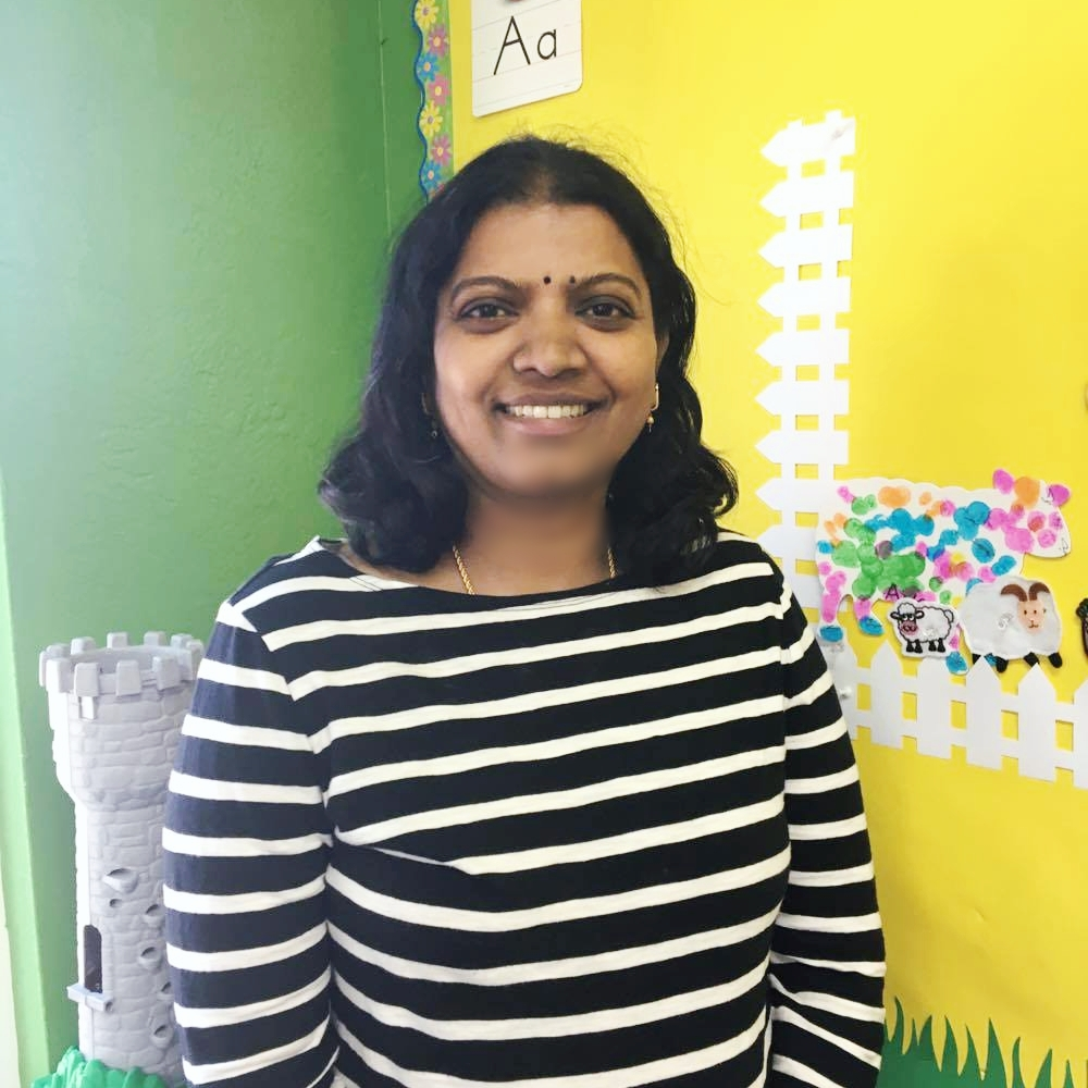 Premala Ratnam, Lead Teacher of 3 y/o Program