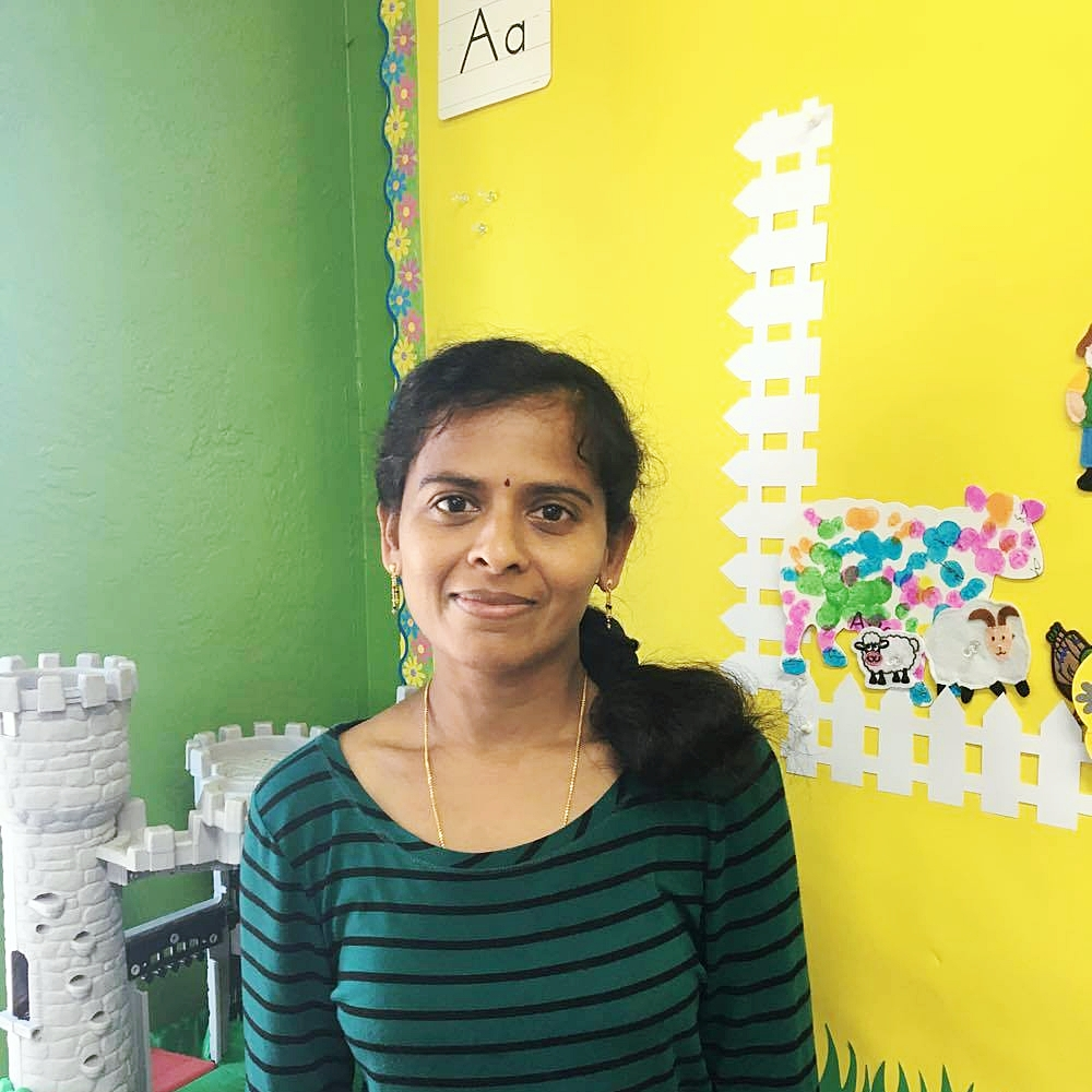 Jasmine Sundar, Assistant Teacher