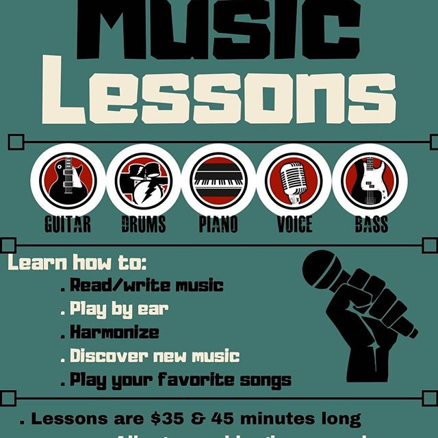 Only ten slots available for the coming school year. Pm or call for music lesson details.