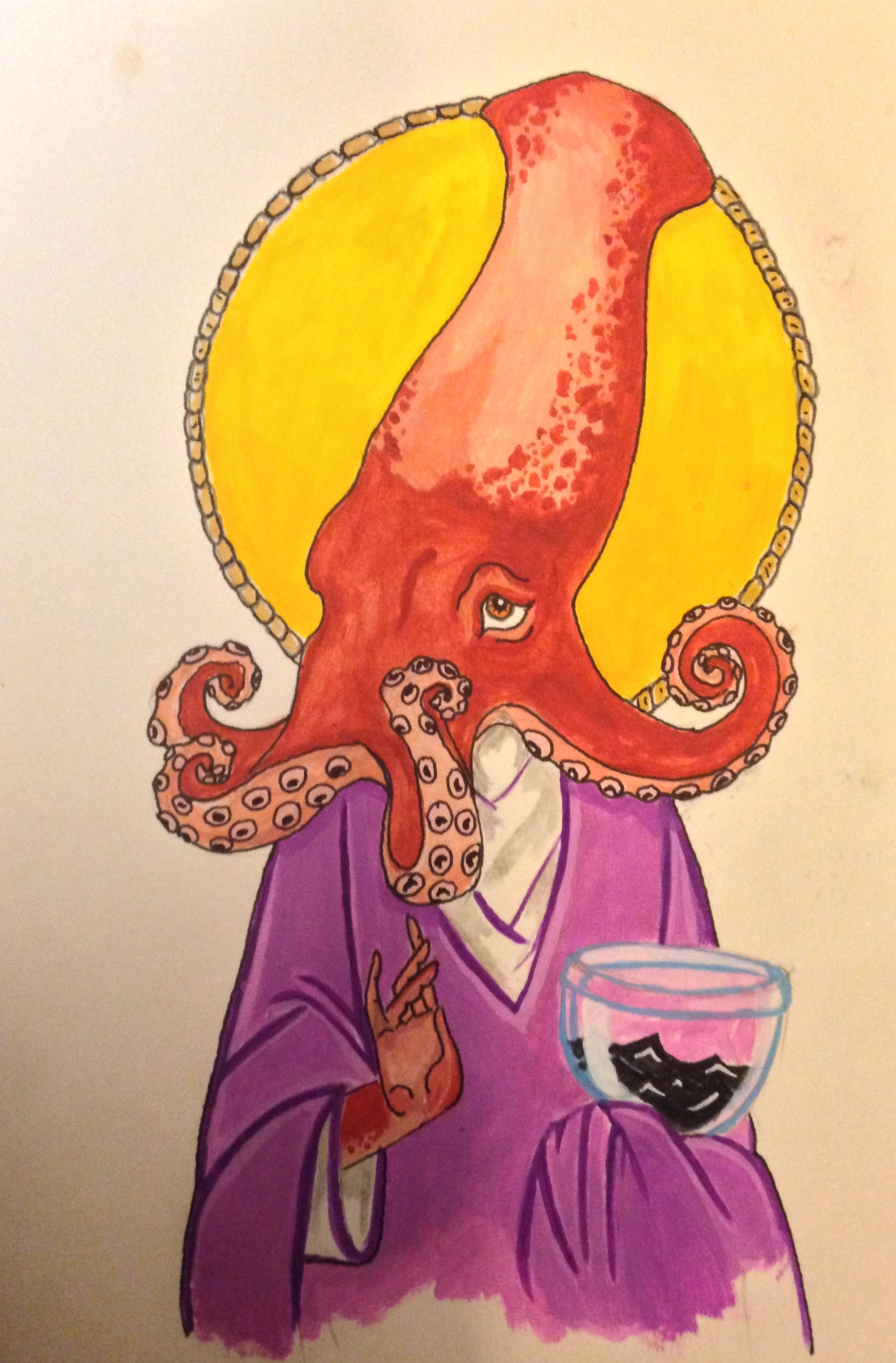 One of my personal favorites. Is that wine or…. ink?