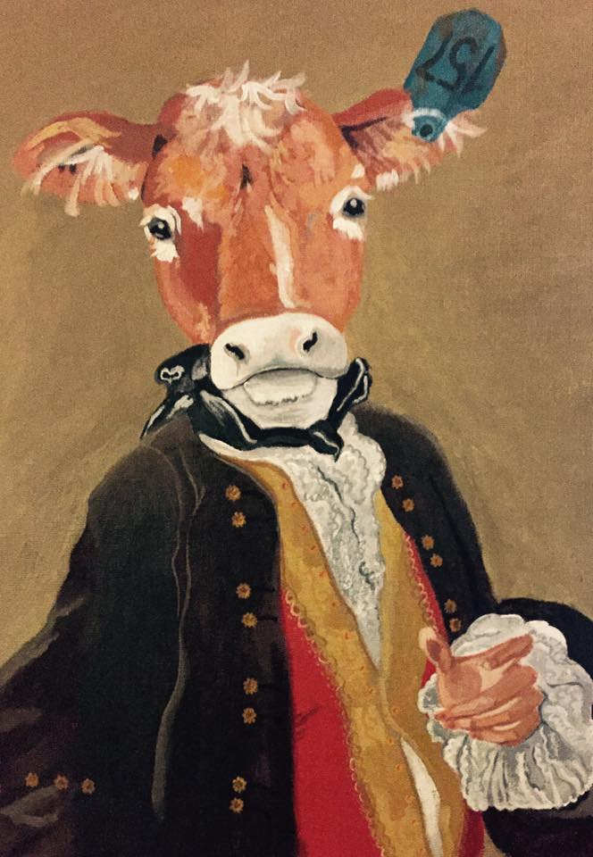 A Genteel Steer    (in private collection)