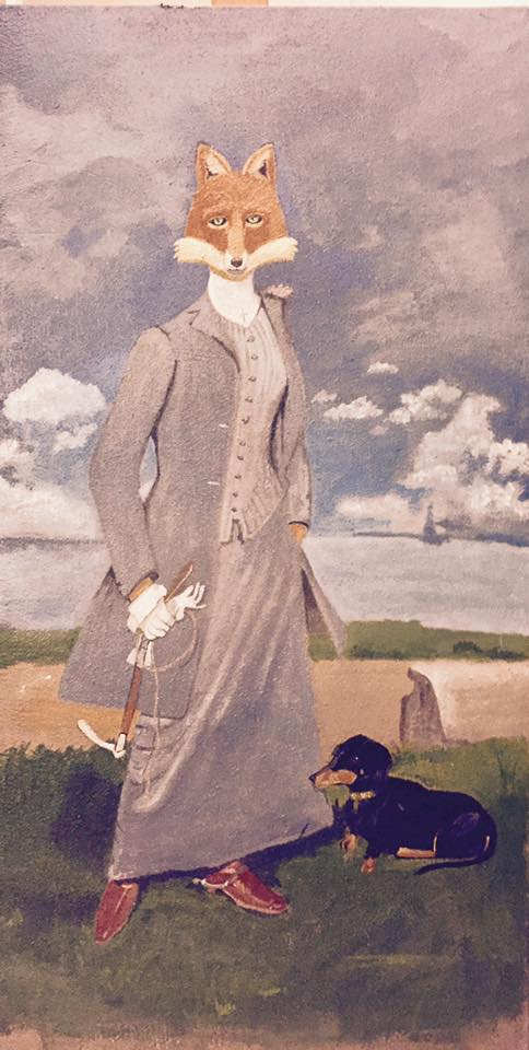 A Lady in Gray