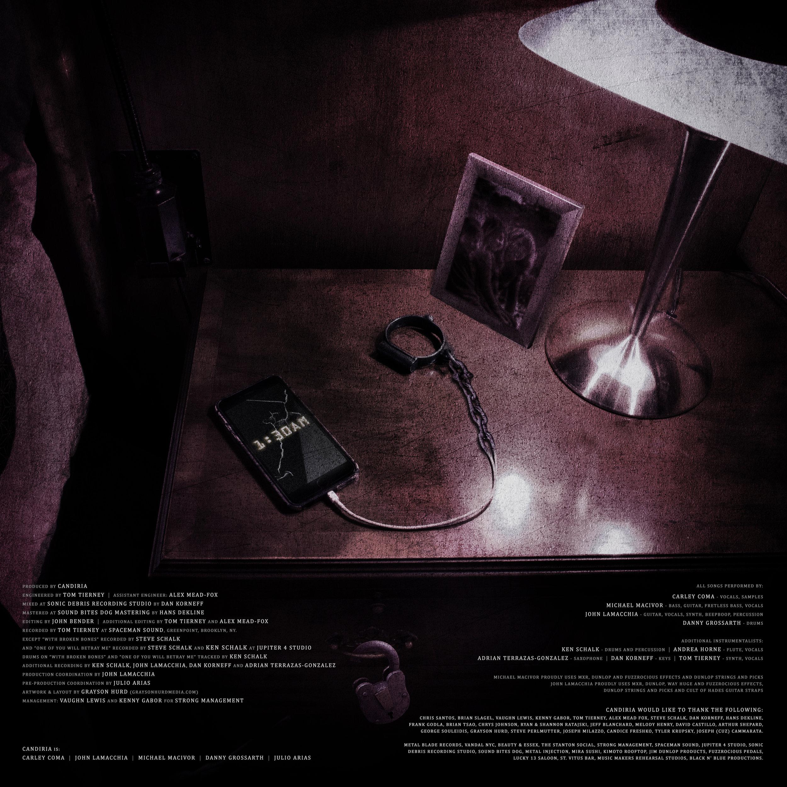 Credits Insert [Vinyl]