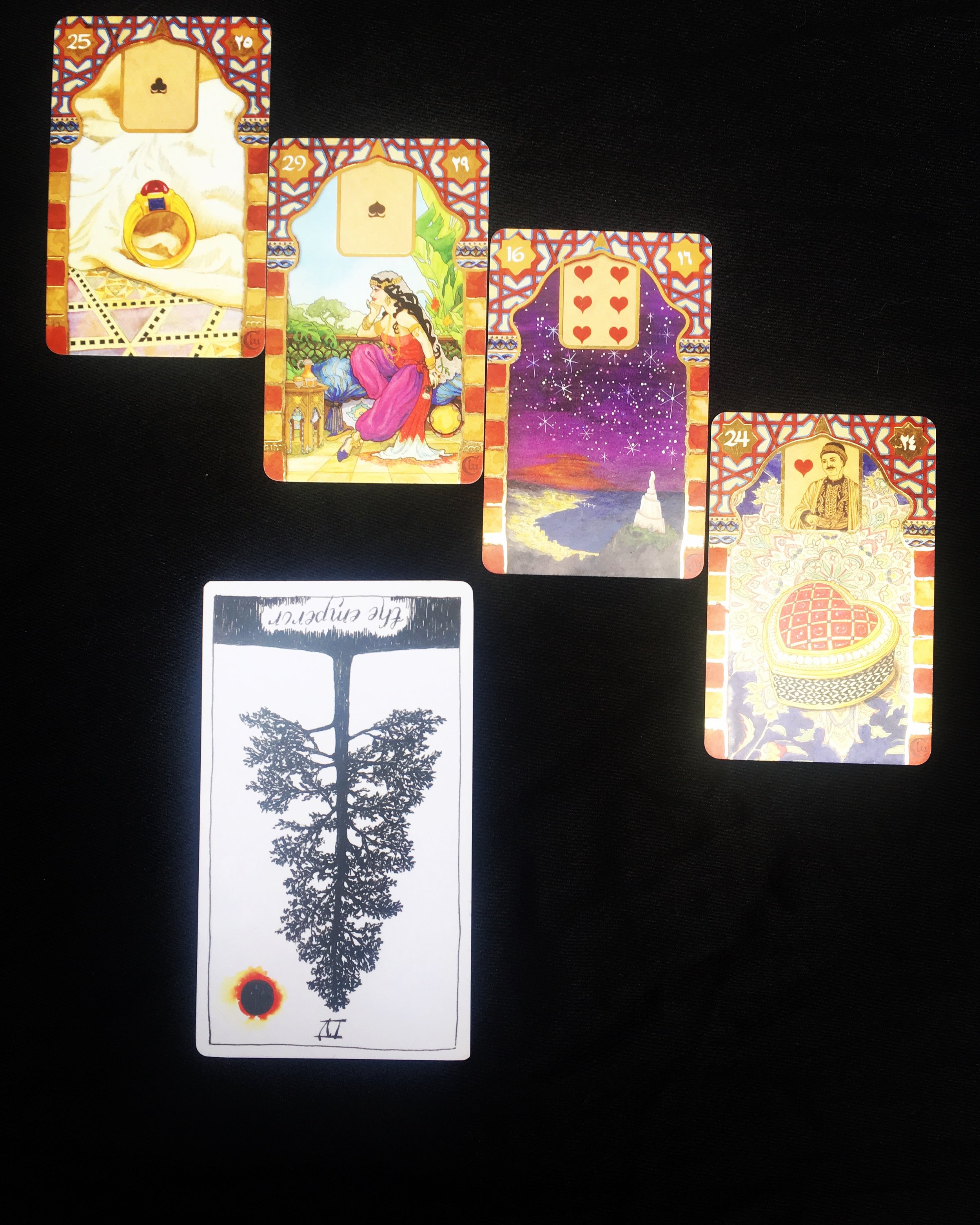 Rana George Lenormand - US Games  The Wild Unknown Tarot
