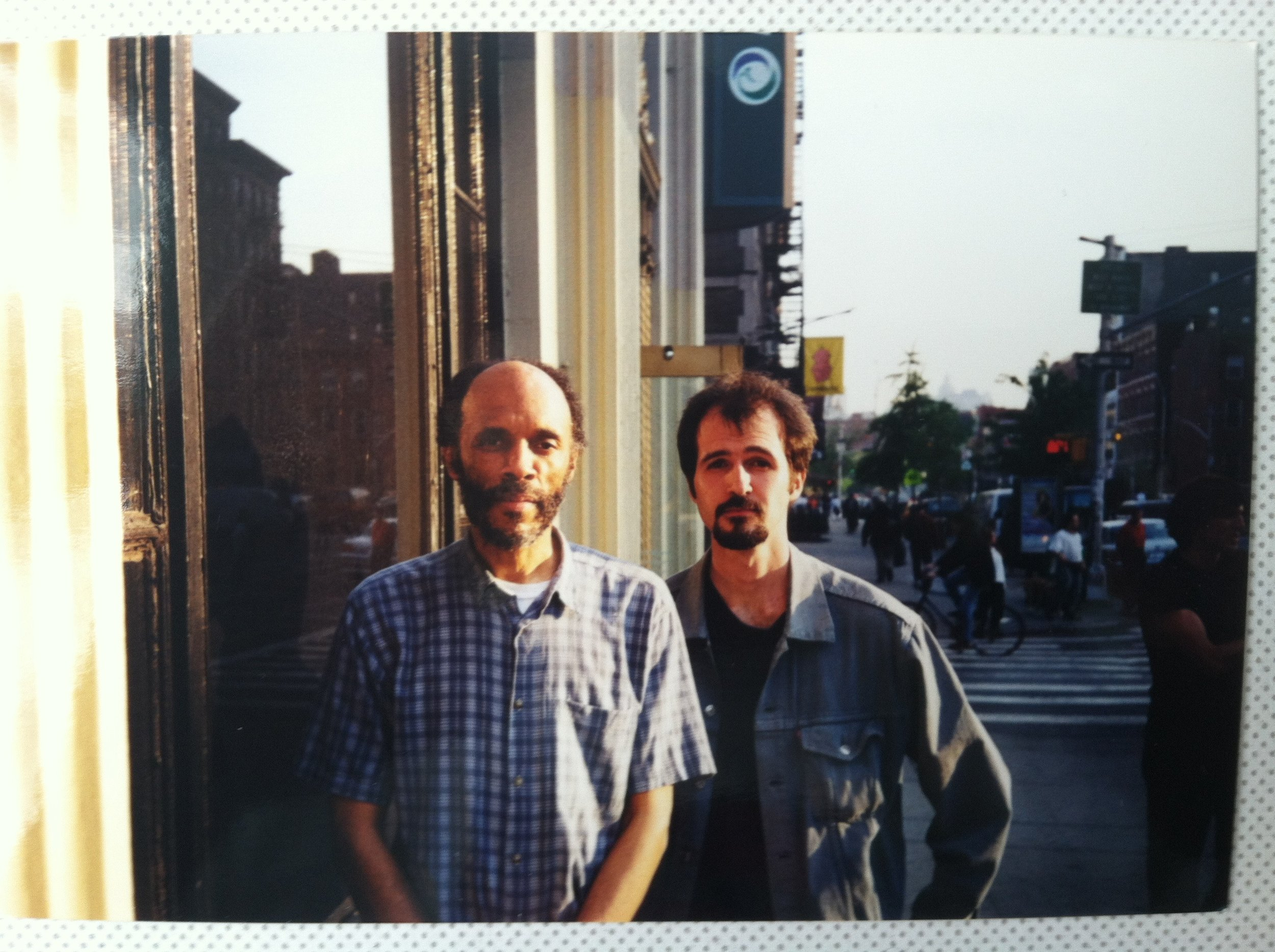 Daniel Carter and Federico Ughi, NYC 2001
