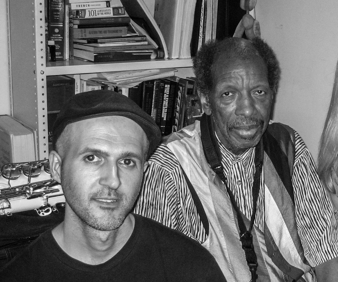 with Ornette Coleman