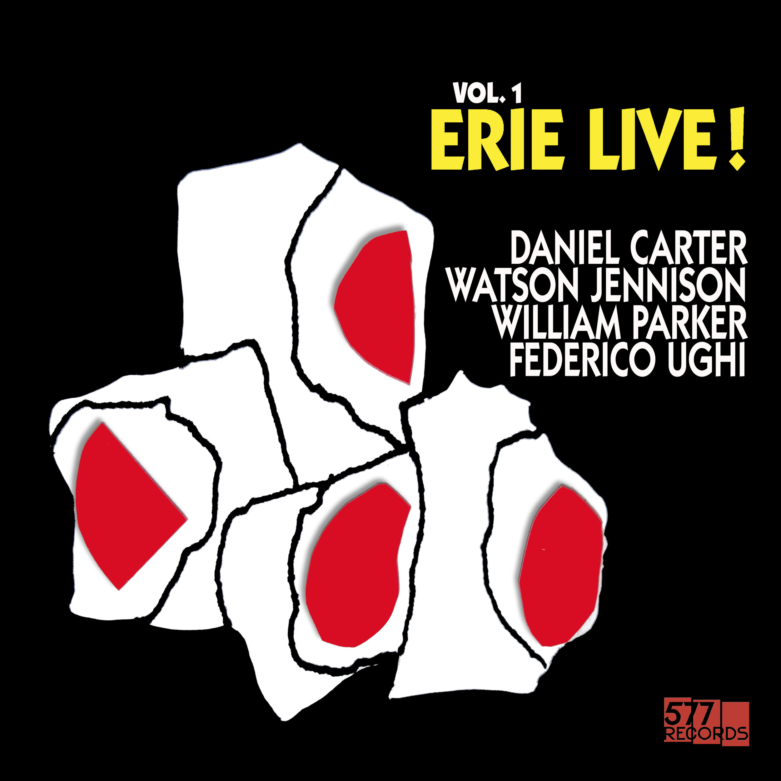 DANIEL CARTER, WATSON JENNISON, WILLIAM PARKER, FEDERICO UGHI LIVE! VOL. 1 - LP MASTER EDITION