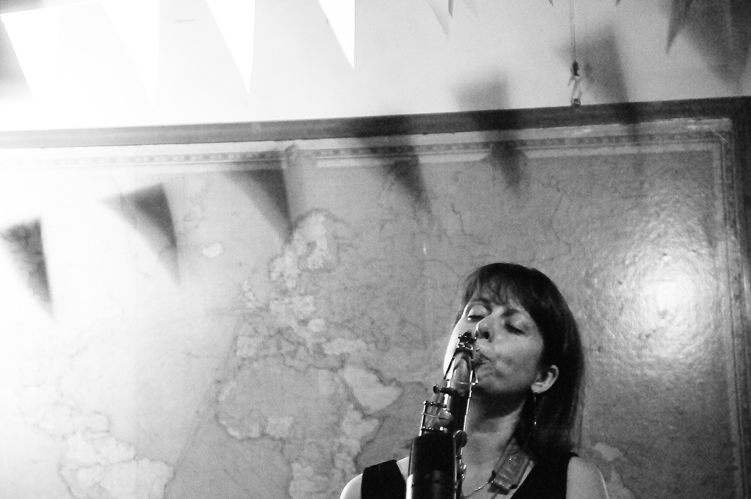 Rachel Musson - saxophonist, improviser, composer