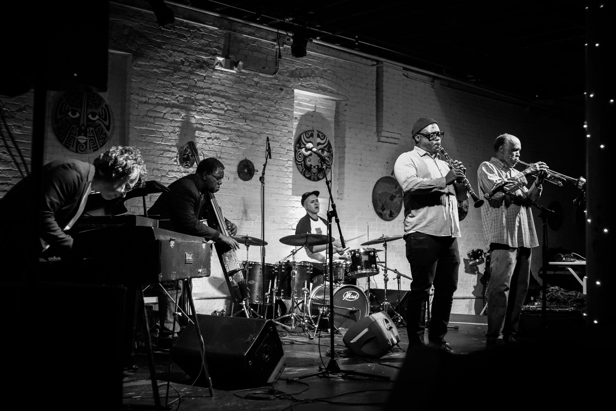 Telepathic Band - Daniel Carter, Patrick Holmes, Matthew Putman, Hilliard Greene, Federico Ughi