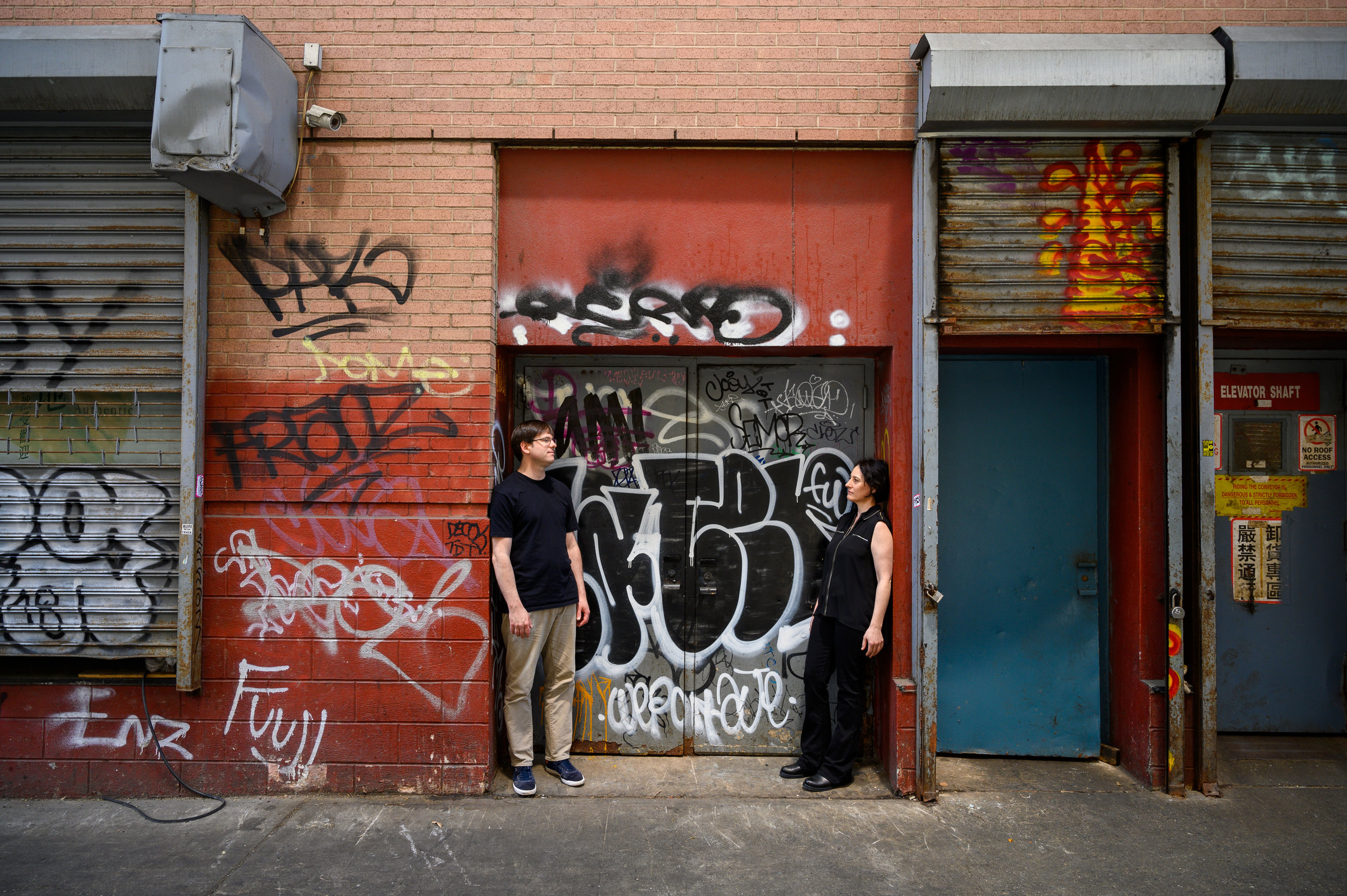 Kid Millions & Sarah Bernstein photo by Caleb Bryant Miller