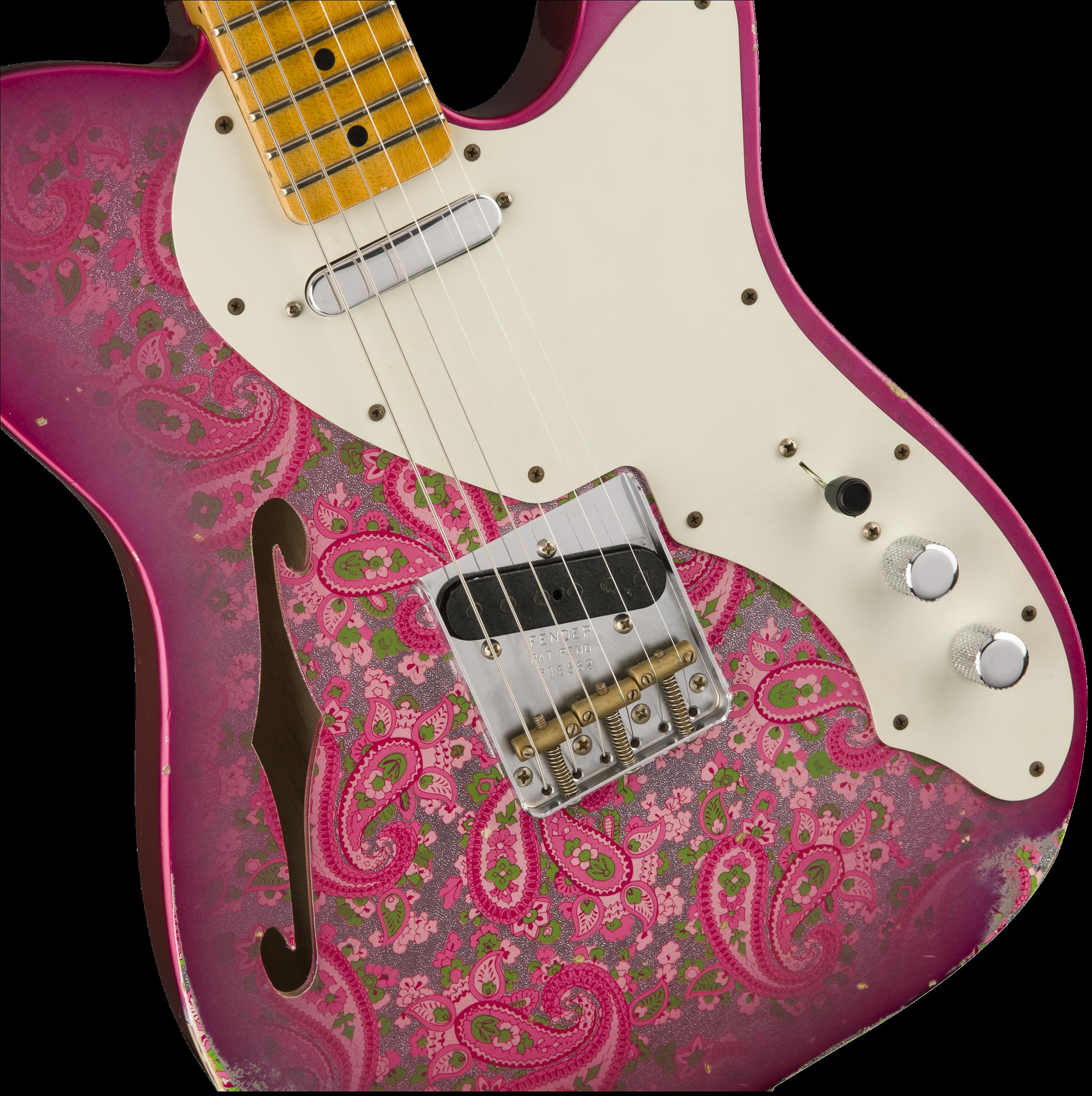Fender Custom Shop 2017 Ltd '50s Tele Thinline – Relic