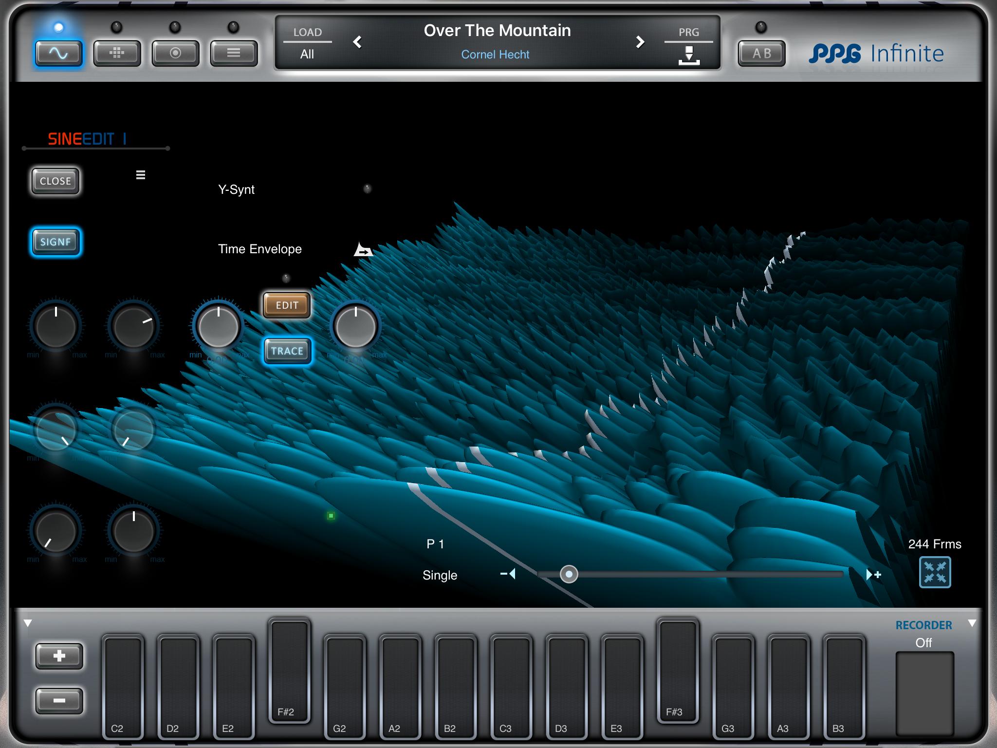 PPG Infinite. Jag vete fasen vad den där 3D-bilden visar, men coolt är det.
