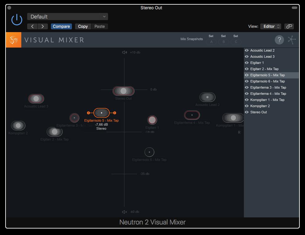 Visual Mixer – snacka om audiovisuella hjälpmedel.