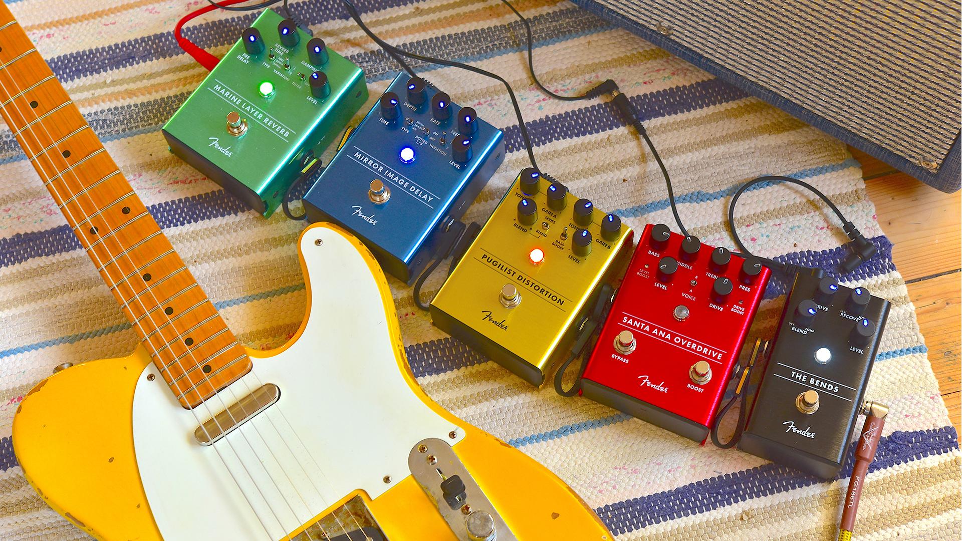 TEST: Fender Effektpedaler