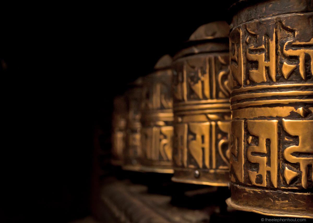 Tibetan Prayer Wheels - Kathmandu Nepal