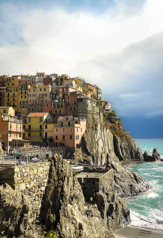 Beginner's debut: One of my travel photos taken in Manarola in Cinque Terre, Italy.