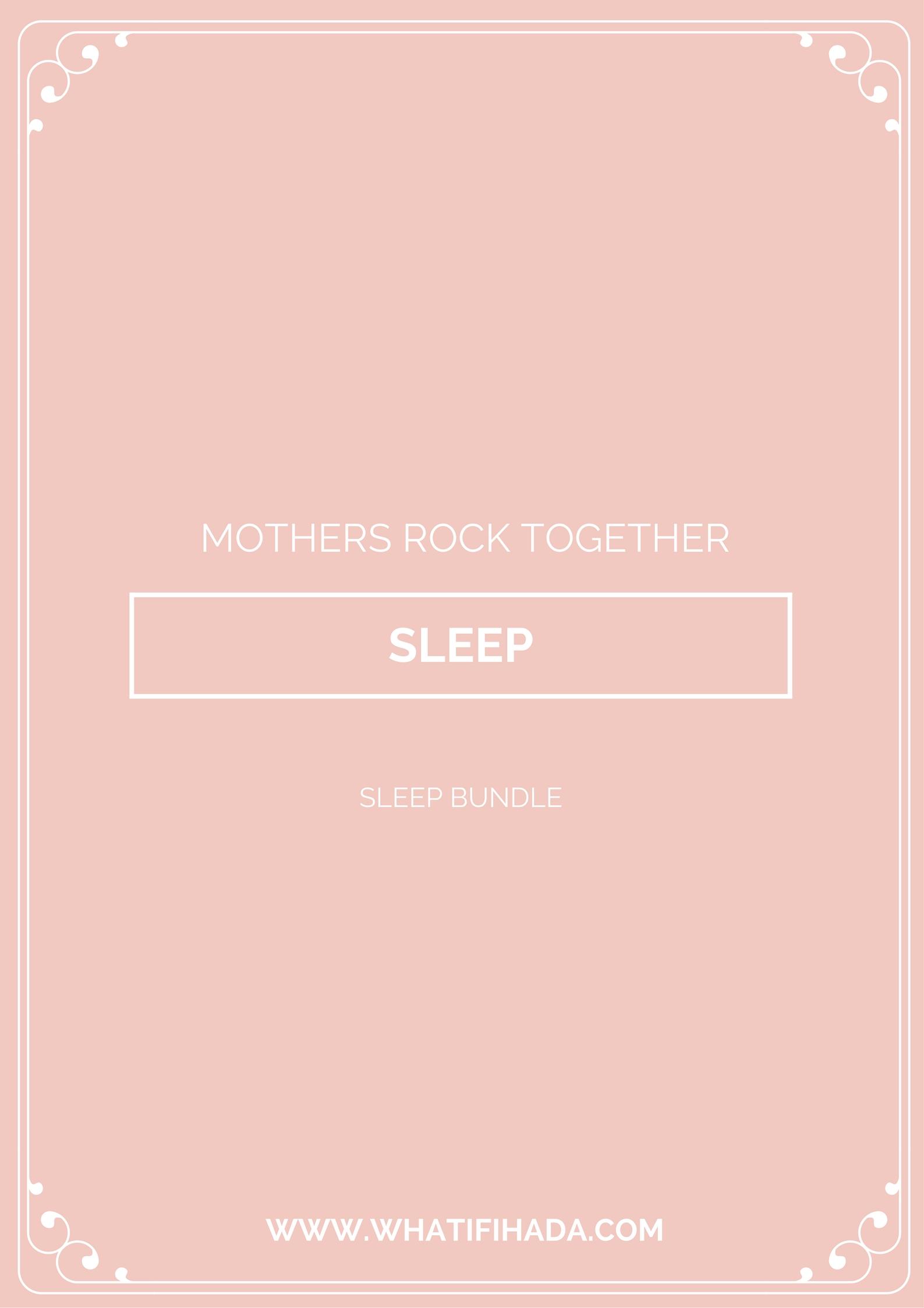 Sleep Printable