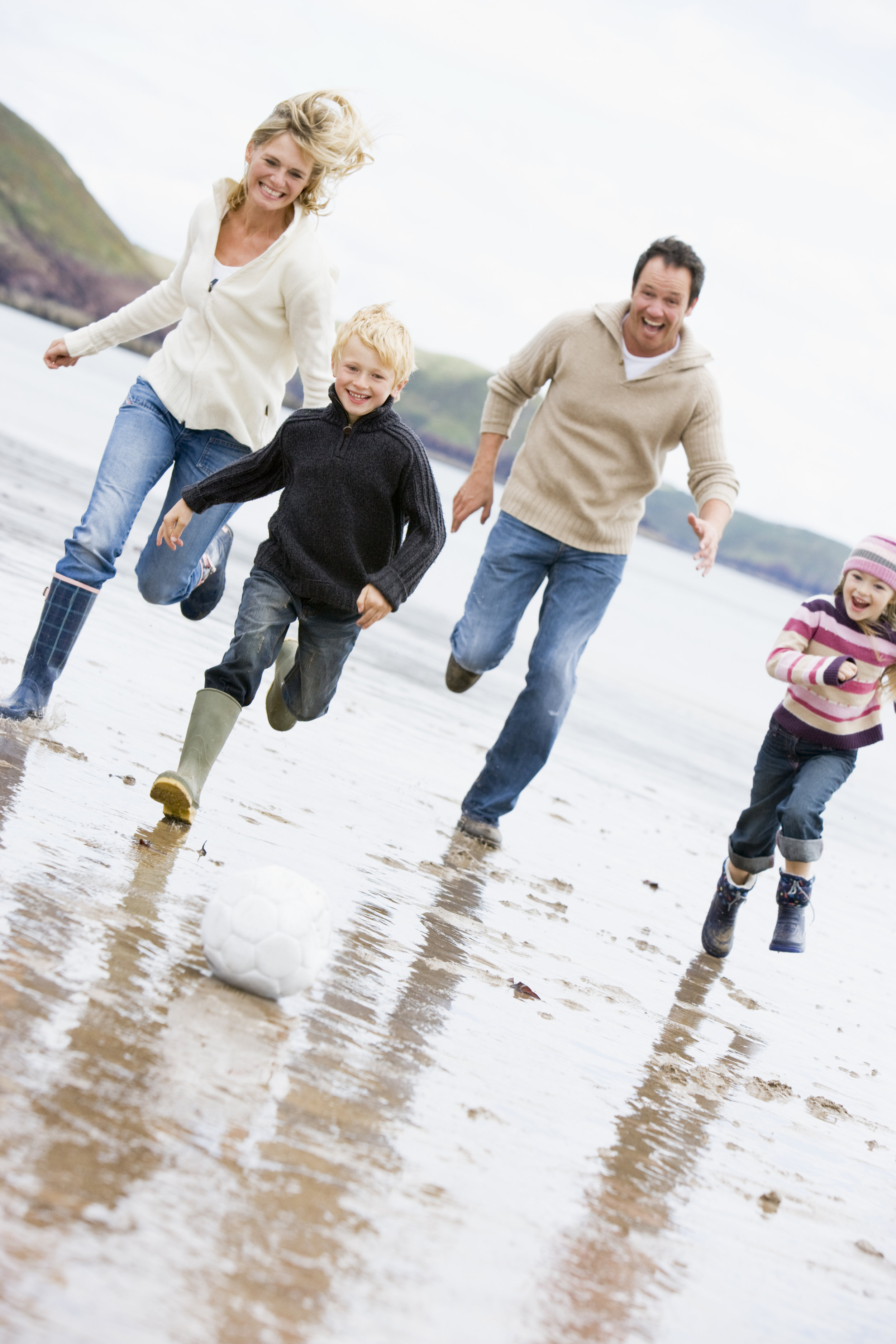 An active family and time for all to get moving in what they love