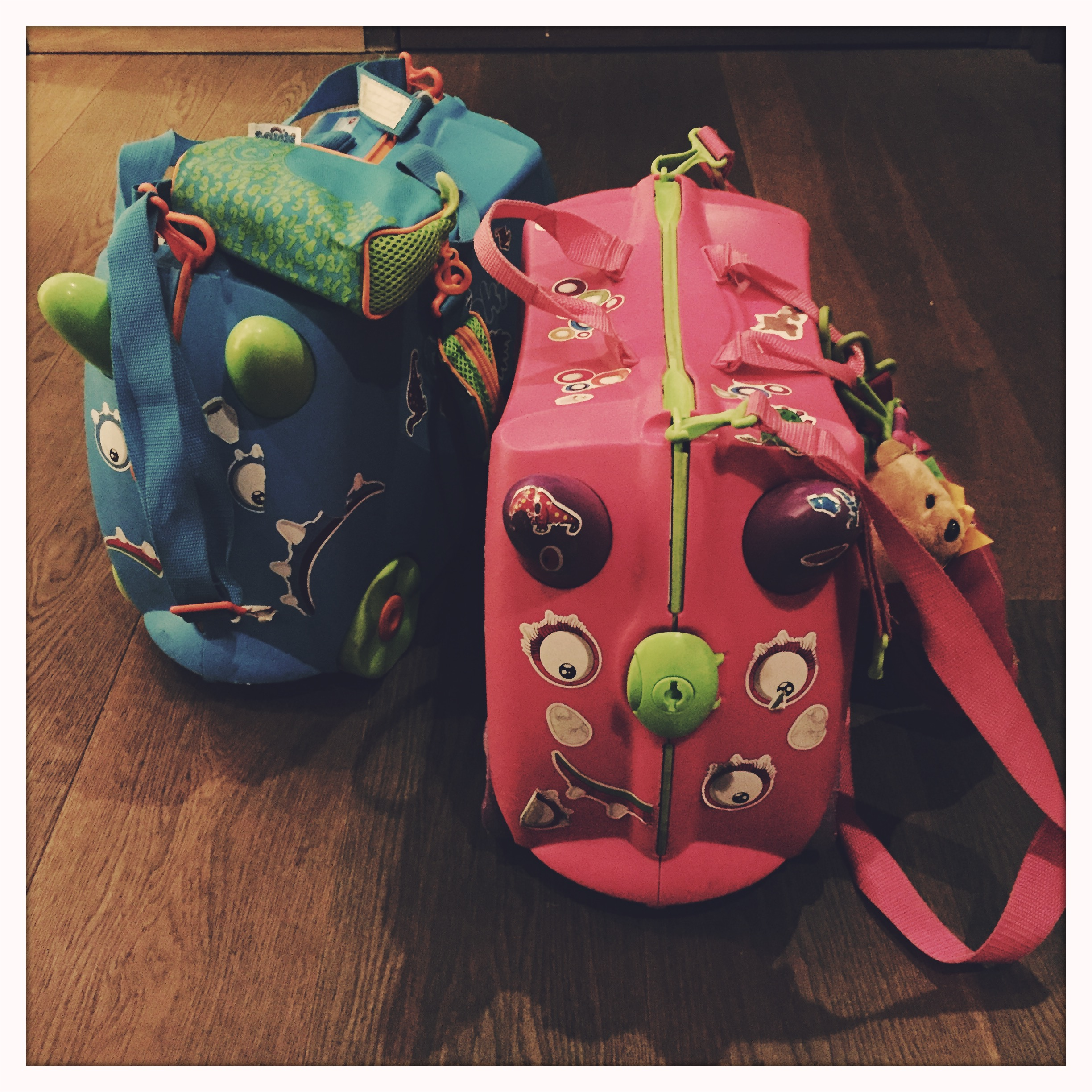 Our Trunki's may be a bit warn but they've done 1000's of miles and rock and rolled our kids around many an airport.