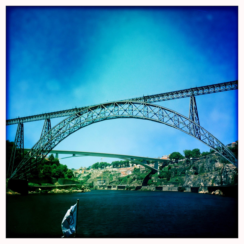 Just 2 of the 6 bridges.