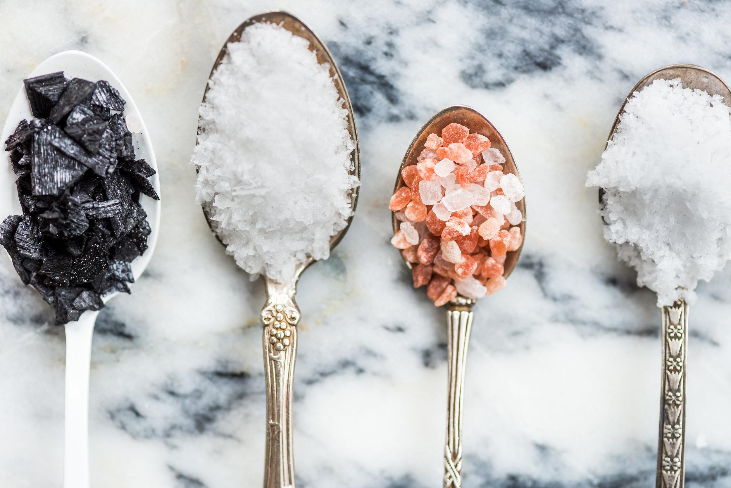Salt (just normal table salt)