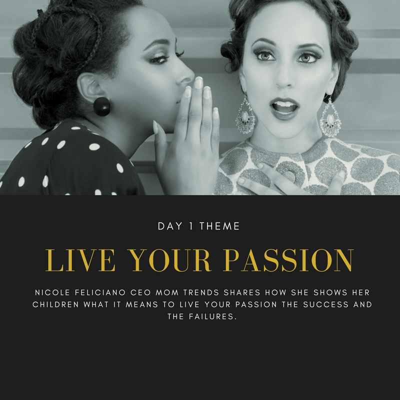 Nicole Feliciano CEO of Mom trends and Author of Mom Boss has navigated her way to a live your passion mindset.