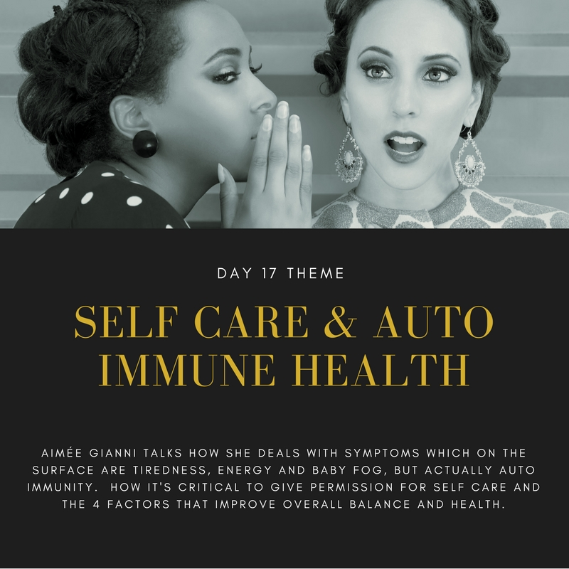 You'll like this interview if want to learn about auto immunity and how to get back to a better health balance.