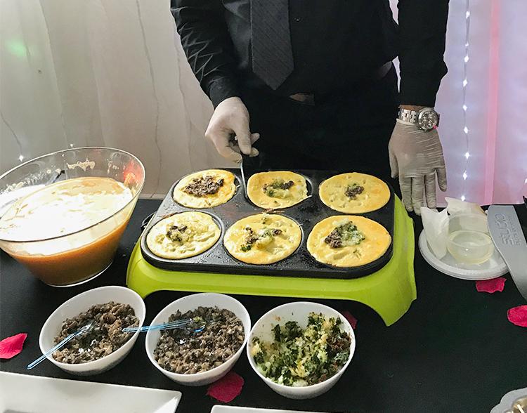 animation omelettes salées -