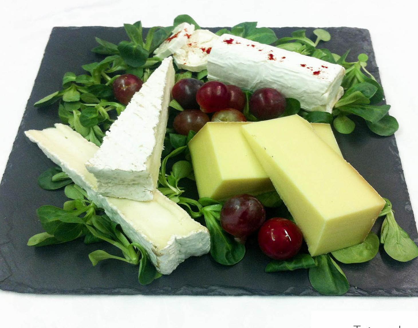plateau de fromage -