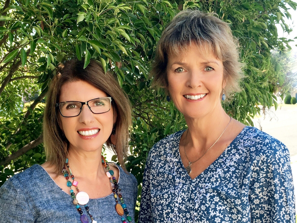 Toni Livingstone and Marg Hombsch from The Healing Room, set to hold their pop up clinic at New Life Farm in October 2018