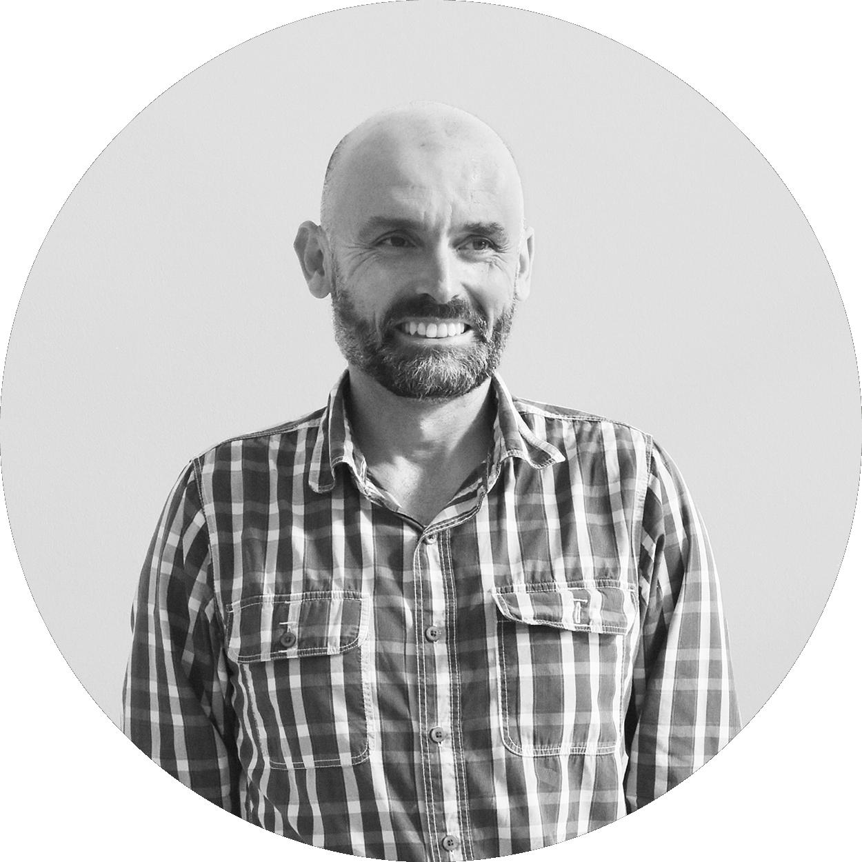 Tim Evans - Head of Industrial Design & Human Factors