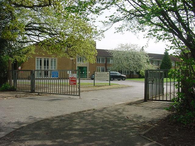 Rodborough School  in Milford near Godalming